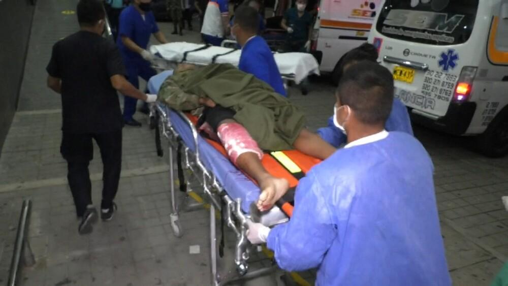 367781_Militares heridos en Caquetá. Foto: Cortesía
