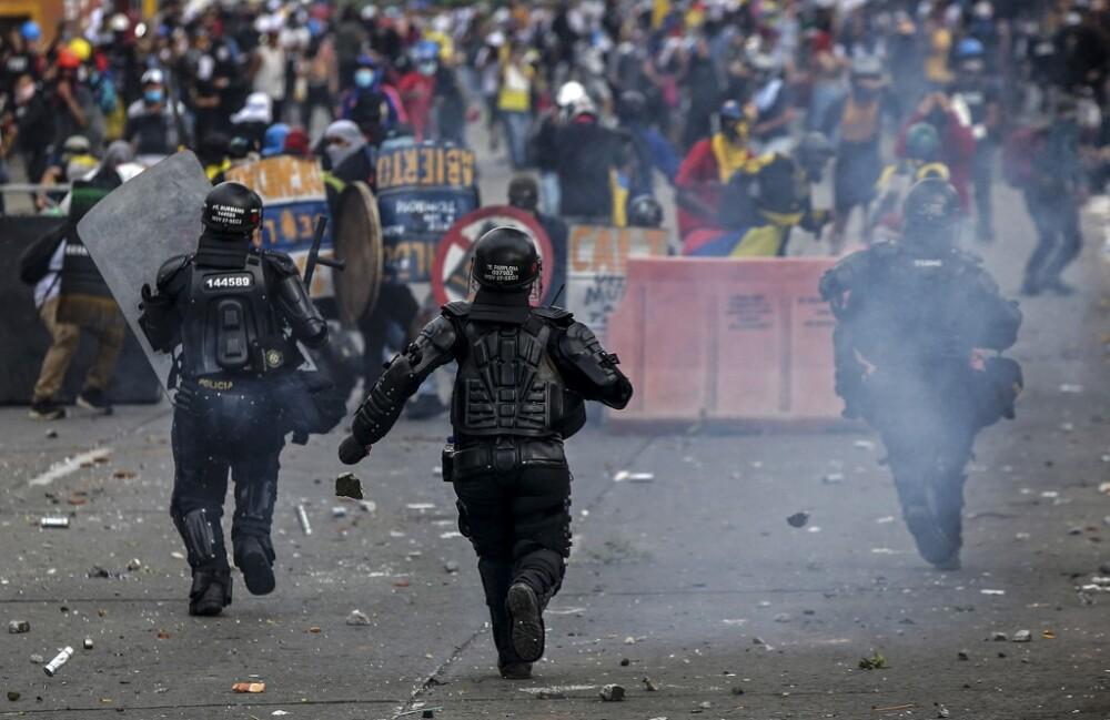 Protestas en Bogotá este 20 de julio