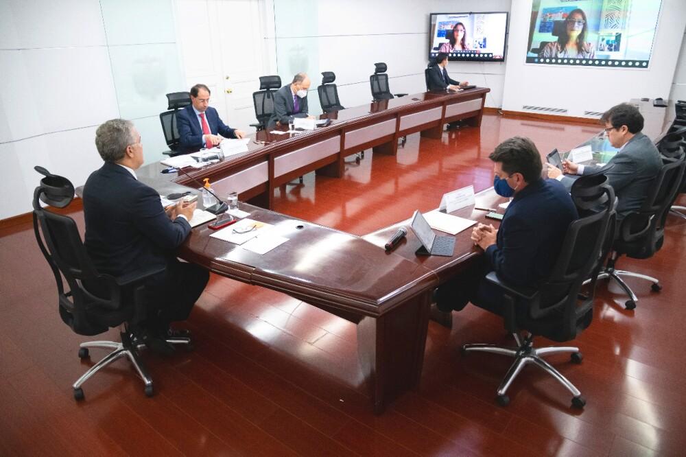 371082_Iván Duque en reunión con Acopi // Foto: Presidencia