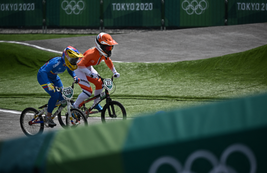 Mariana Pajón clasificó a la semifinal del BMX de los Juegos Olímpicos Tokio 2020.