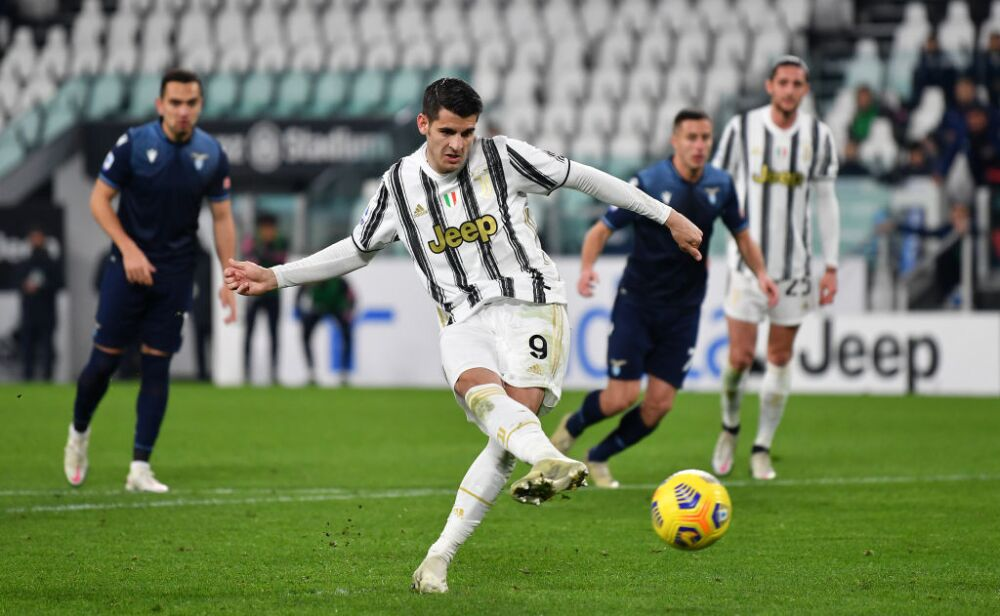 Alvaro Morata, penalti Juventus