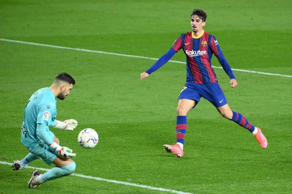 Trincao, segundo gol Barcelona
