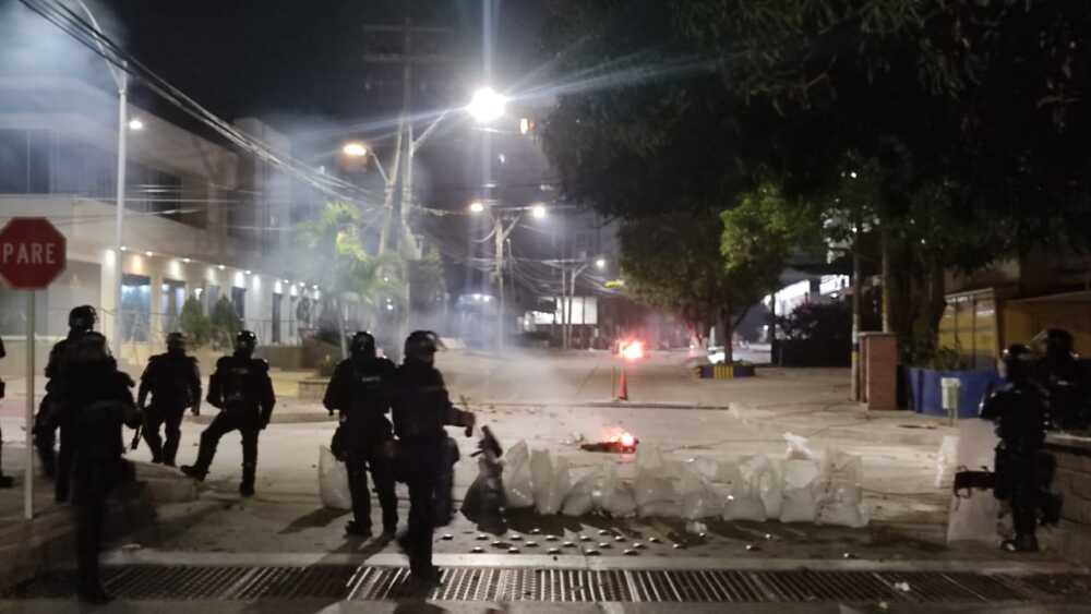 Enfrentamientos Barranquilla