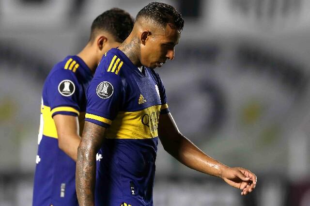 Sebastián Villa, en Boca Juniors