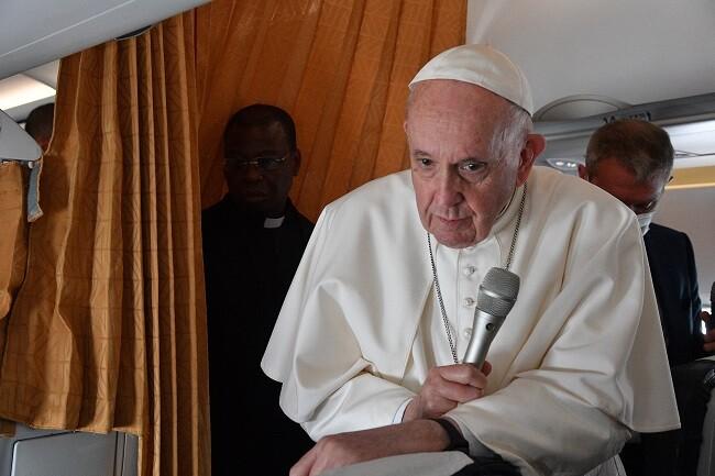papa francisco habla de aborto