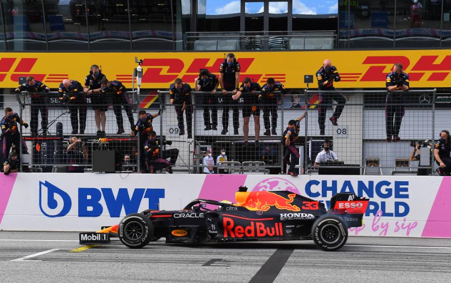 Max Verstappen ganó el GP de Estiria de la Fórmula 1.