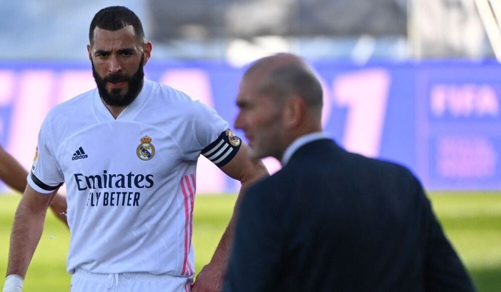 Real Madrid vs Valencia AFP