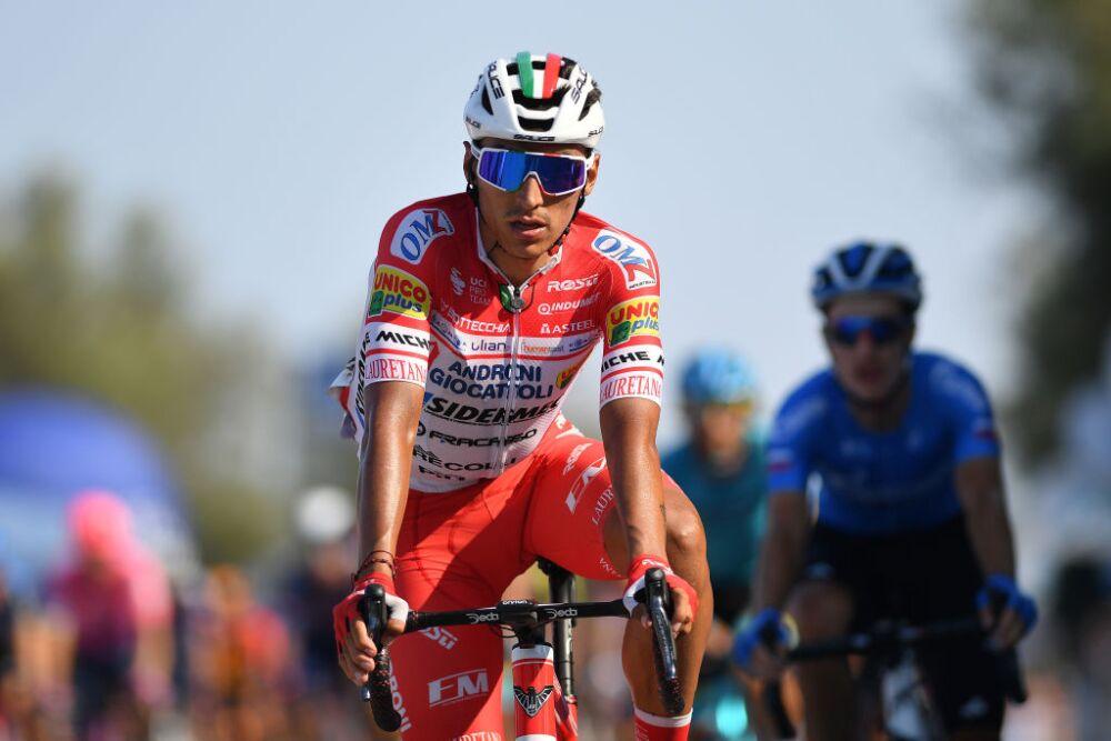Jhonathan Restrepo - Giro de Italia