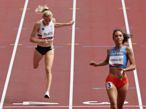 Melissa González disputará la semifinal de los 400 metros vallas de los Juegos Olímpicos Tokio 2020.