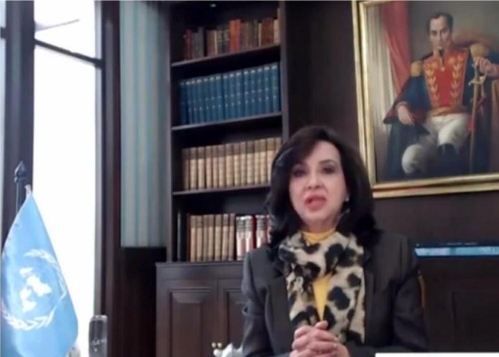 Claudia Blum / Foto: captura de video ONU