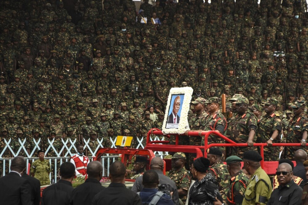funeral presidente Tanzania