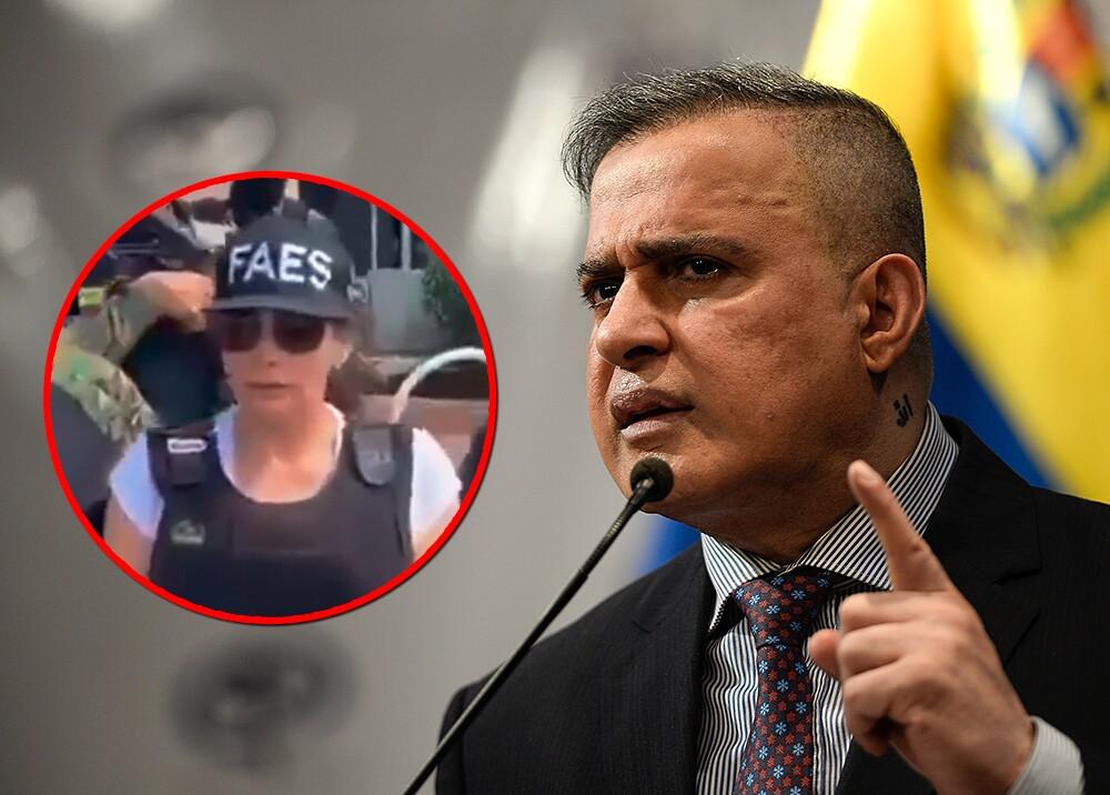 354408_Aida Merlano y fiscal de Venezuela / Fotos: AFP - Faes Venezuela