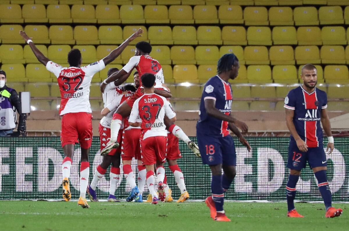 Ligue 1 : avant Leipzig, le PSG craque à Monaco  |Monaco ... Psg