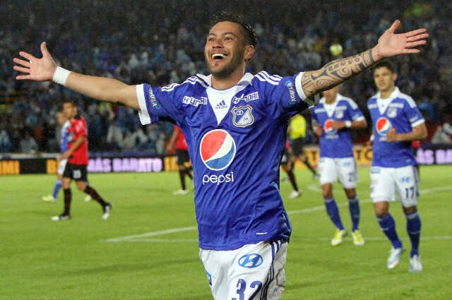 José Luis Tancredi, en Millonarios