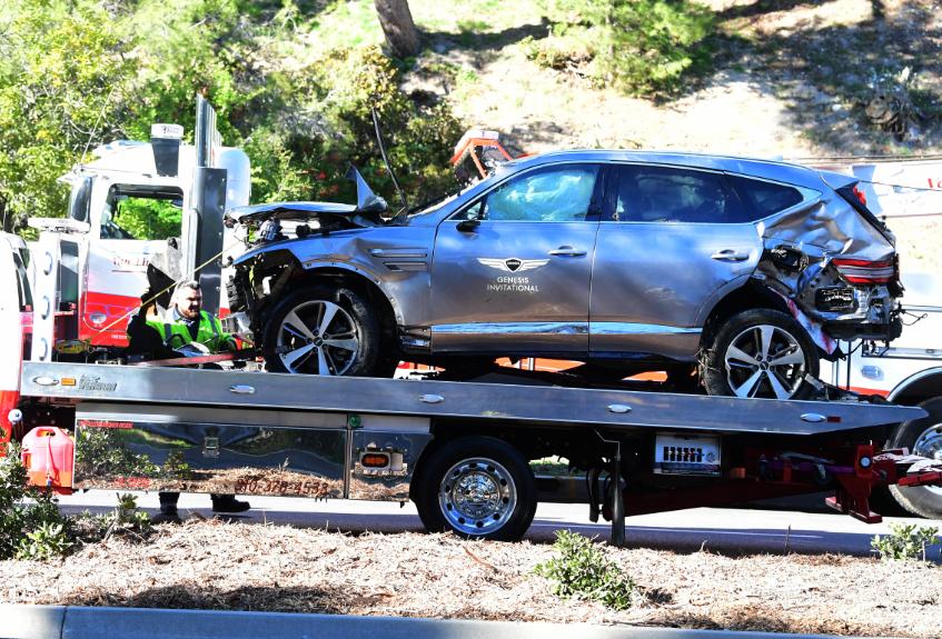 Tiger Woods se accidentó el pasado 23 de febrero.
