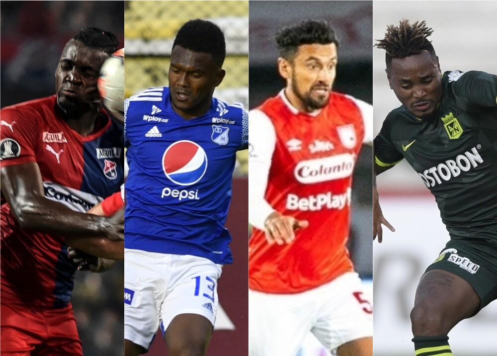 357179_BLU Radio. Fecha 8 liga colombiana / Fotos: AFP y Twitter @SantaFe