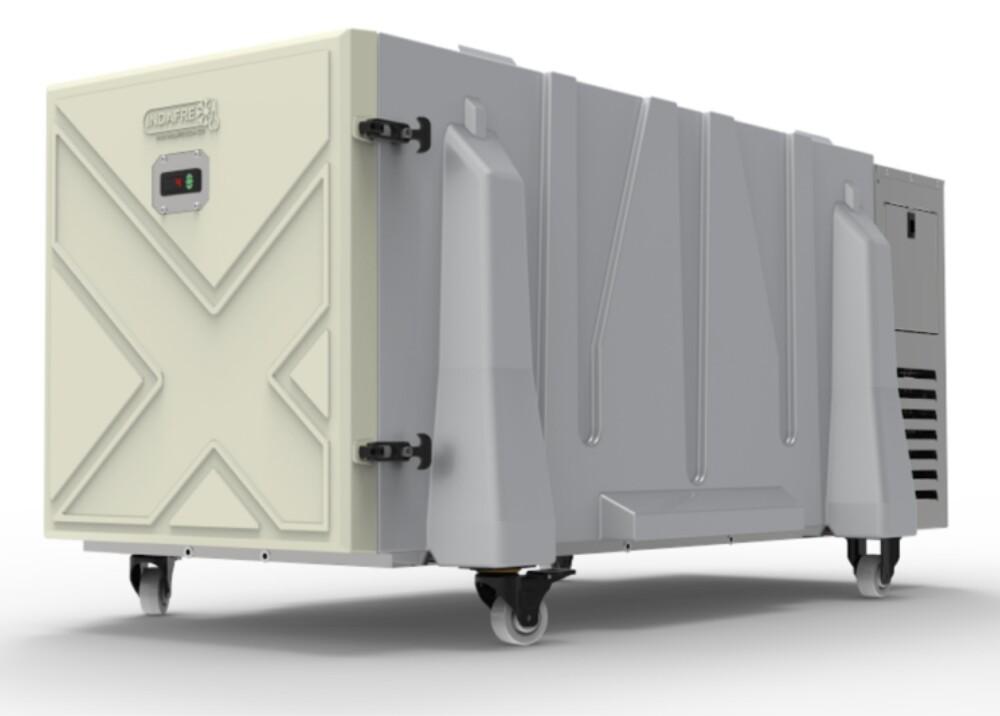 Sistema de refrigeración móvil  Foto wwwindafrecomco.jpg