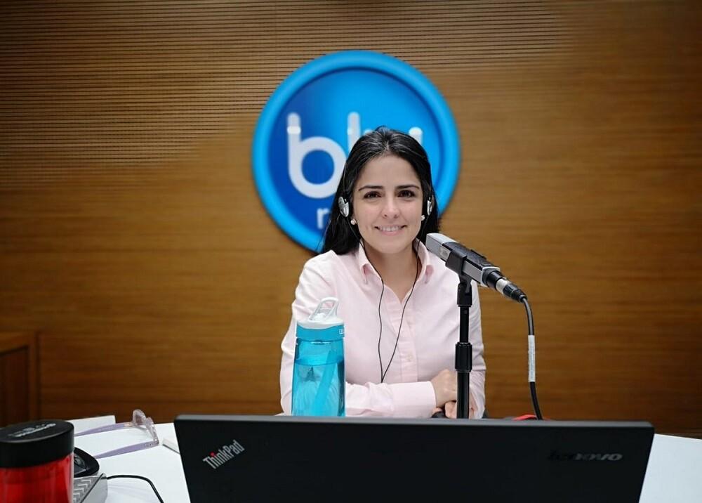 328540_Blu Radio. Claudia Palacios. Foto: Blu Radio