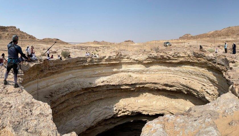 Misterioso pozo en Yemen