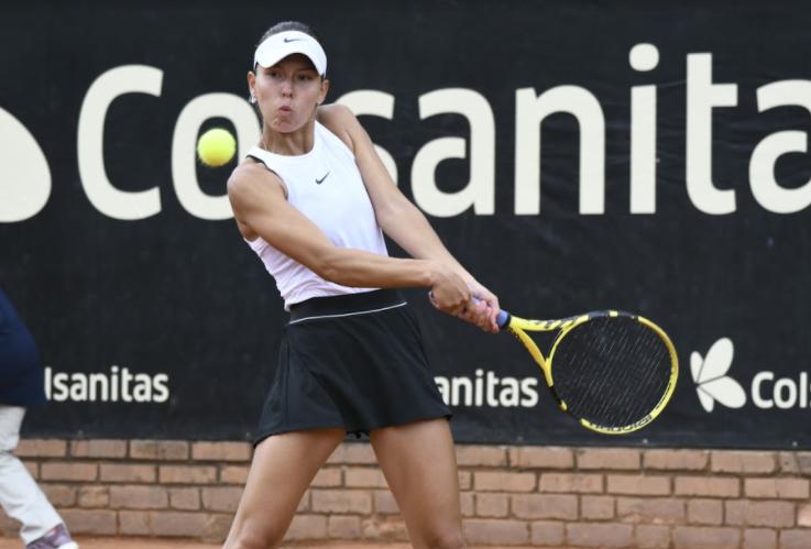 Yuliana Monrroy venció a Natalija Kostic.