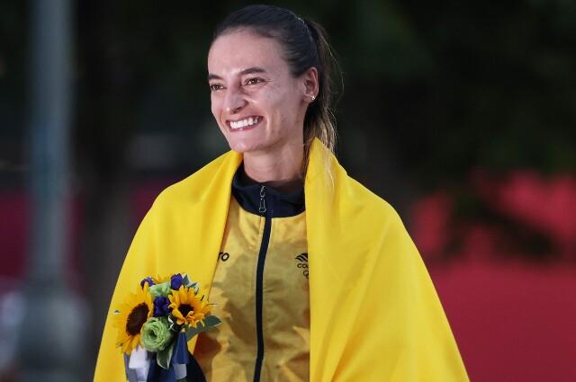 Sandra Lorena Arenas, en los Juegos Olímpicos de Tokio 2020