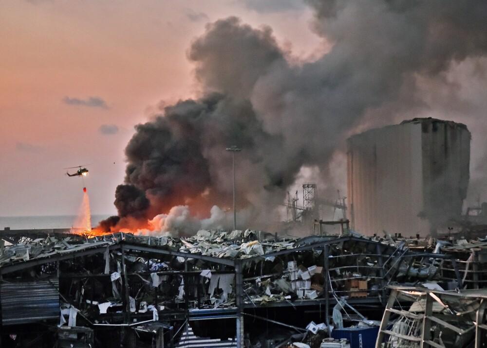 373298_Explosión en Beirut // Foto: AFP