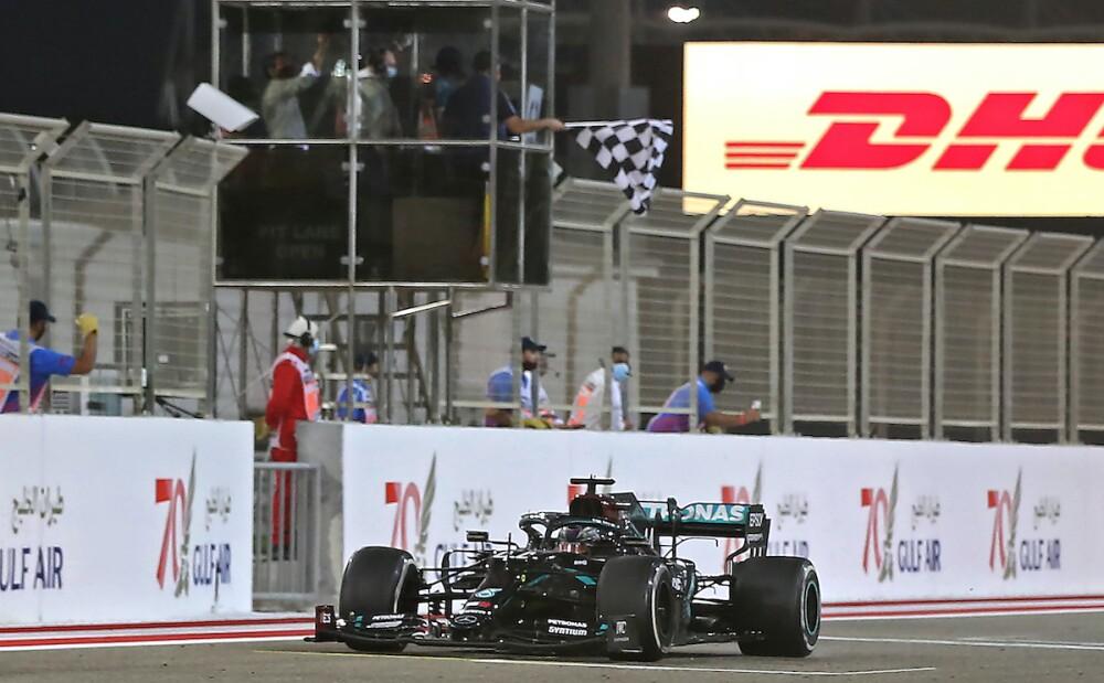 Mercedes, Lewis Hamilton / AFP