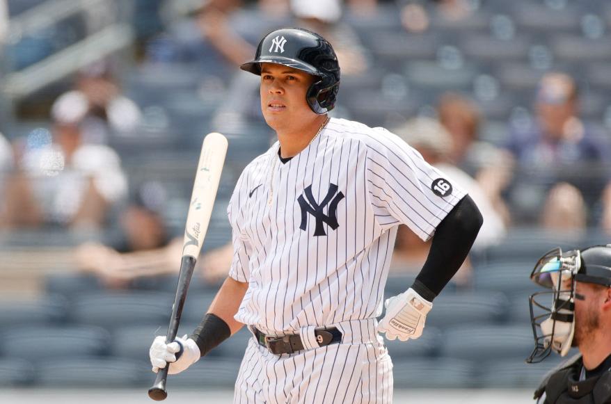 Gio Urshela brilló con los Yankees frente a Azulejos.