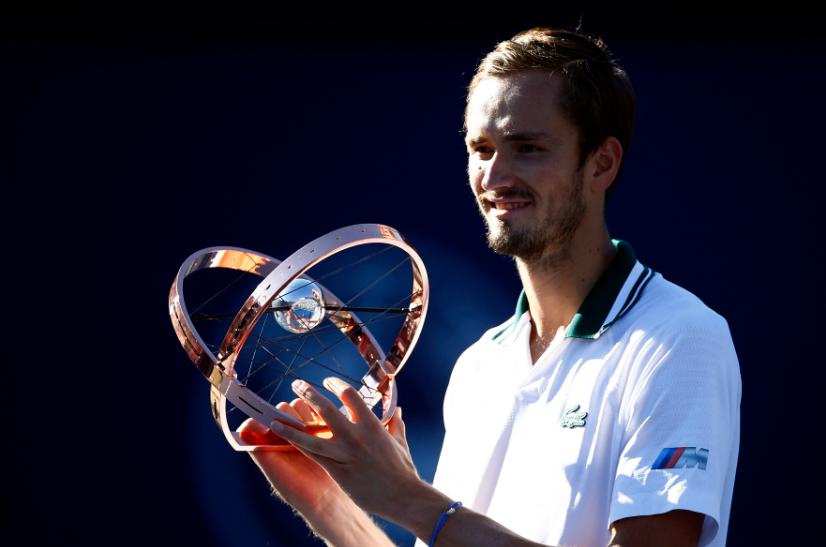 Daniil Medvedev se coronó campeón del Masters 1.000 de Toronto.