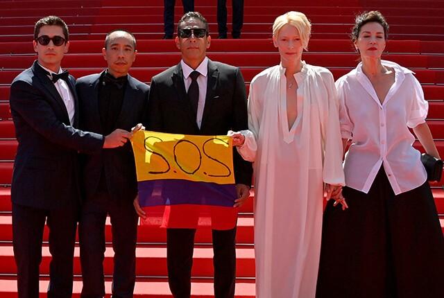 Festival de Cannes 'SOS Colombia'