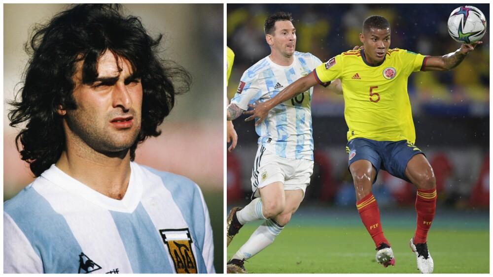 Mario Alberto Kempes sobre Colombia contra Argentina