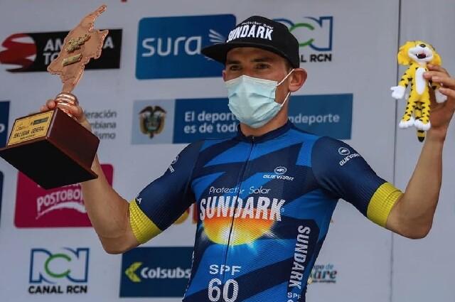Aristóbulo Cala, nuevo campeón nacional de ciclismo de ruta