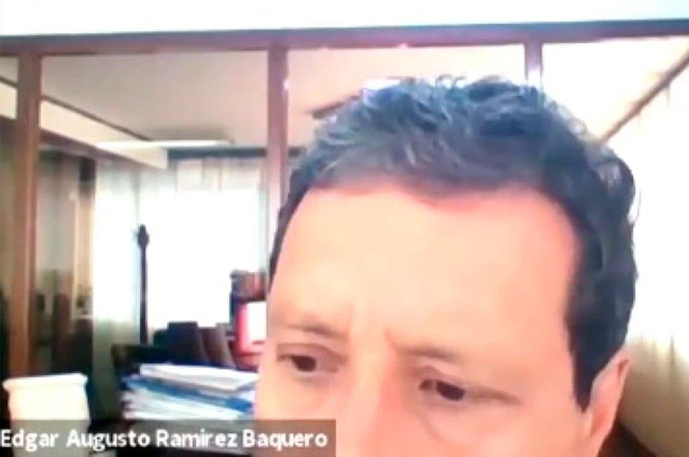 Profesor Edgar Ramírez Baquero