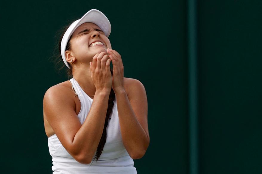 María Camila Osorio clasificó a segunda ronda de Wimbledon.