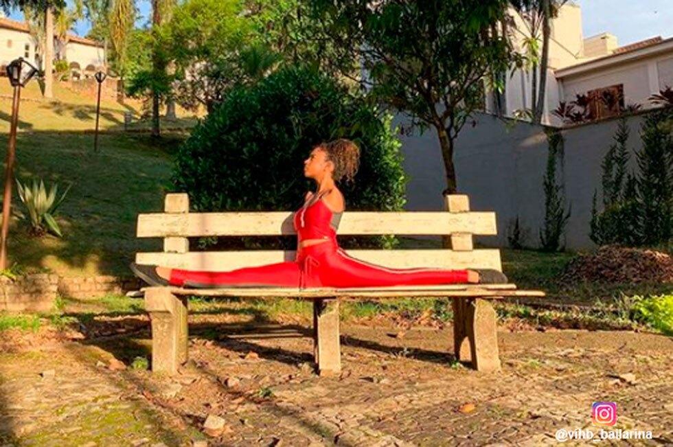 La historia de la bailarina Vitória Bueno