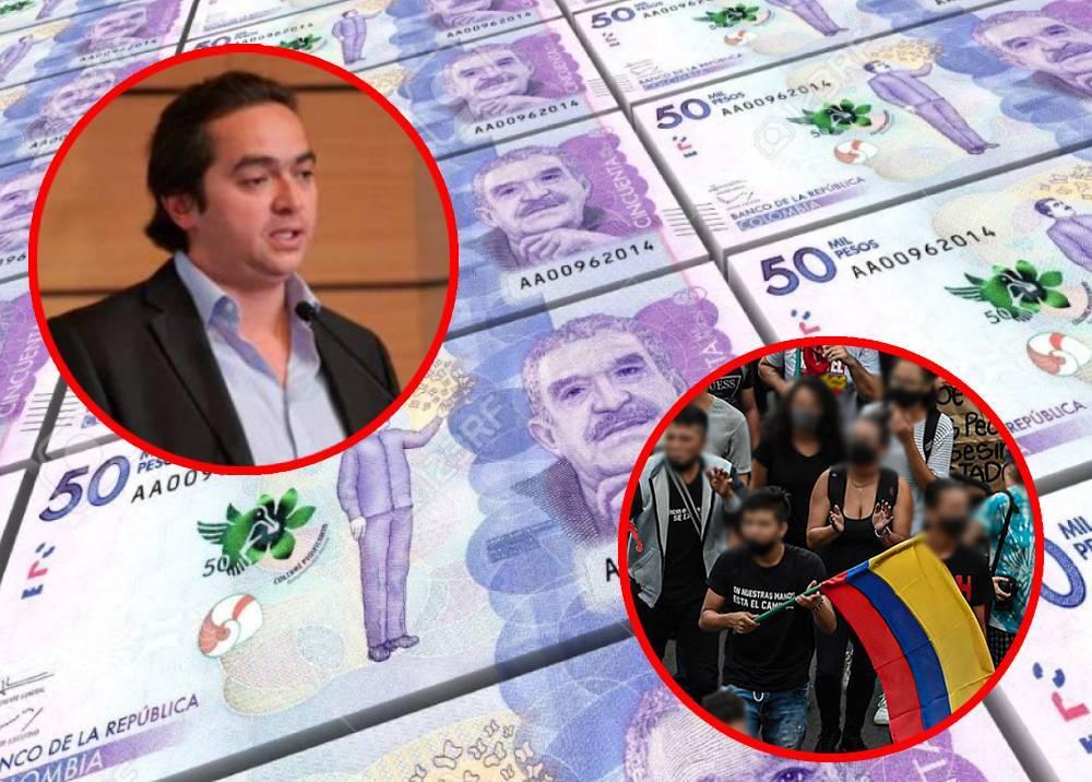 Juan Alberto Londoño - Reforma Tributaria - Protestas