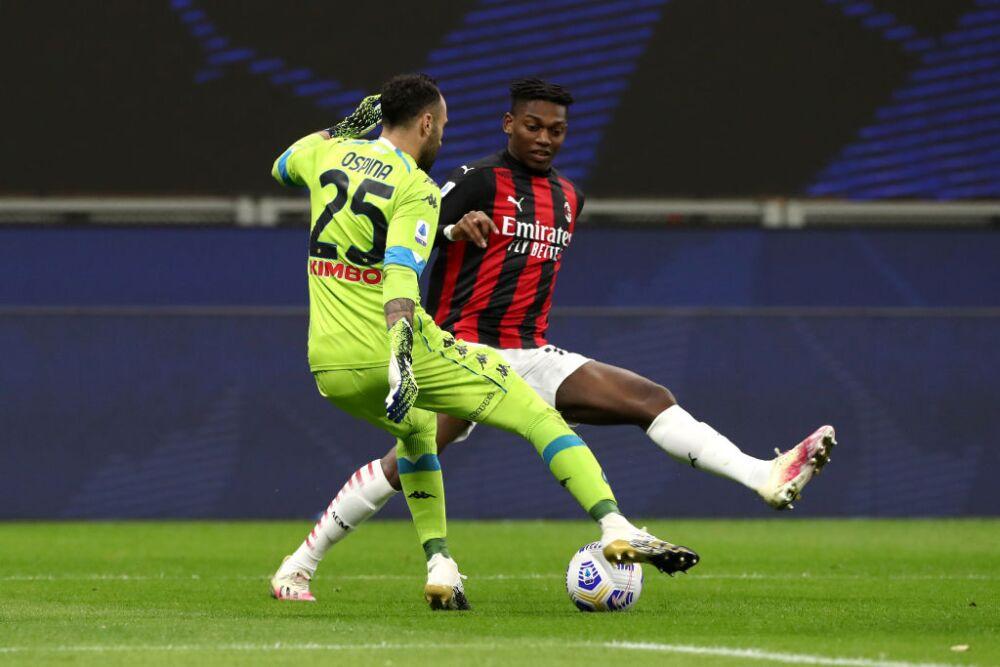 David Ospina, Napoli vs Milan