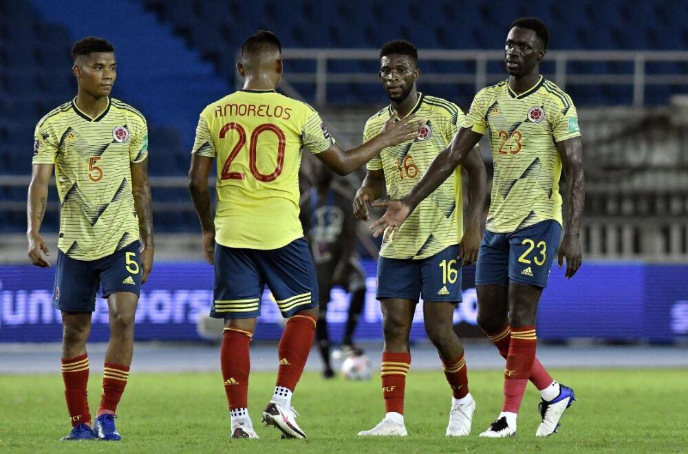 Jugadores Selección Colombia 060321 Getty Images E.JPG