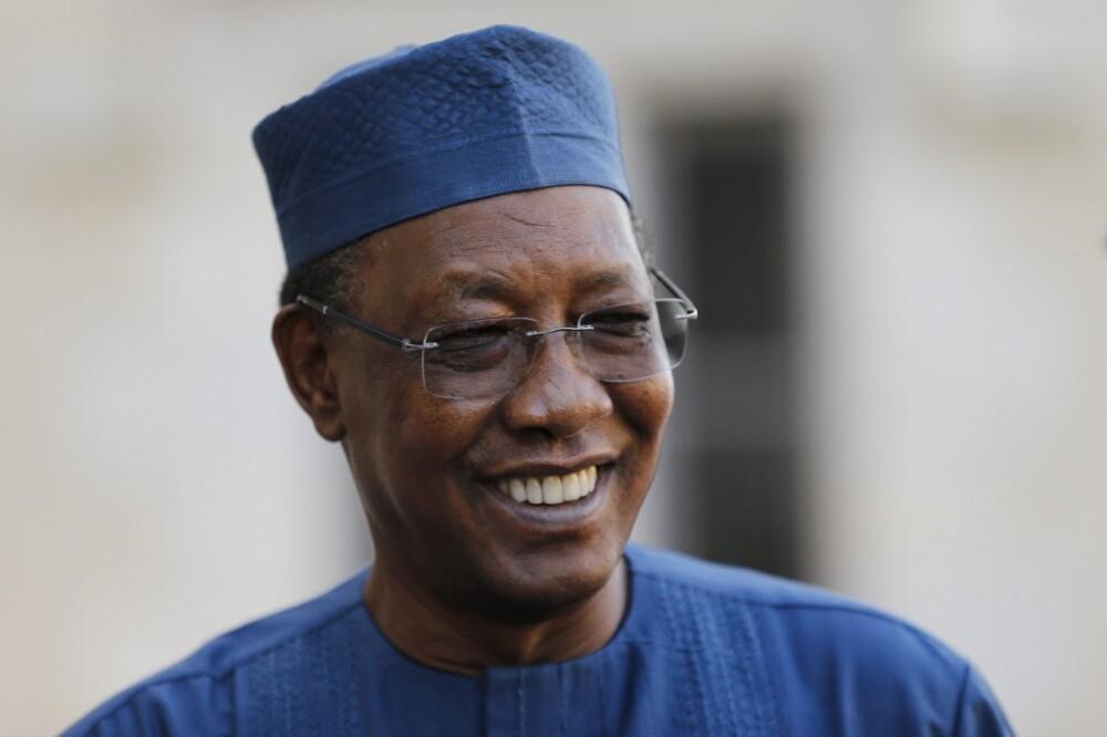 presidente de Chad, Idriss Déby Itno,.jpeg