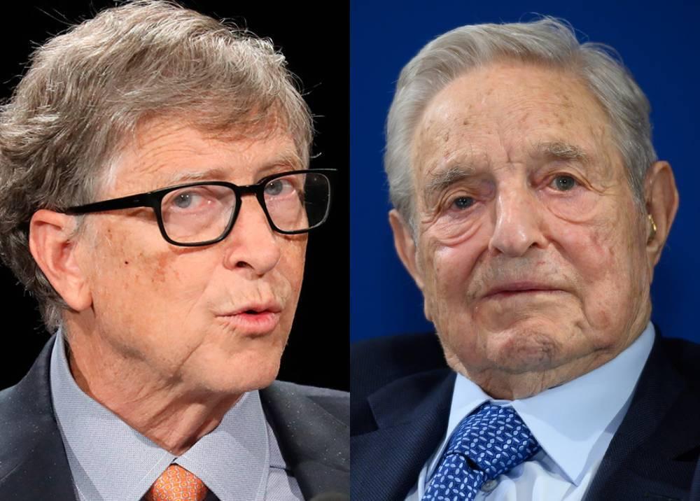 Bill Gates y George Soros