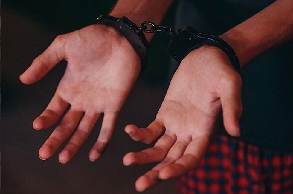 Mujer arrestada