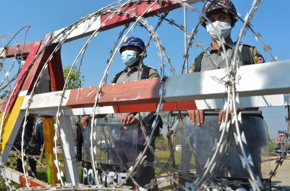 Ejercito de Birmania Foto referencia AFP