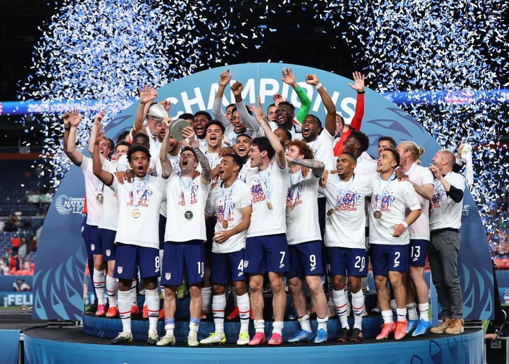 Estados Unidos campeón  Liga de Naciones de Concacaf  Foto Twitter.