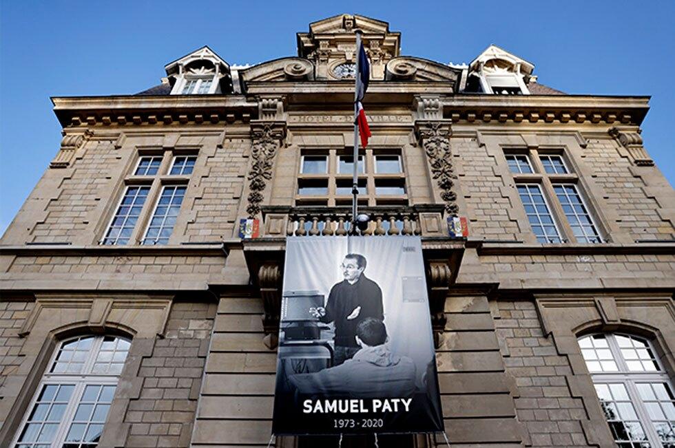 Profesor decapitado en Francia