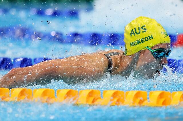 Emma McKeon, en los Juegos Olímpicos de Tokio