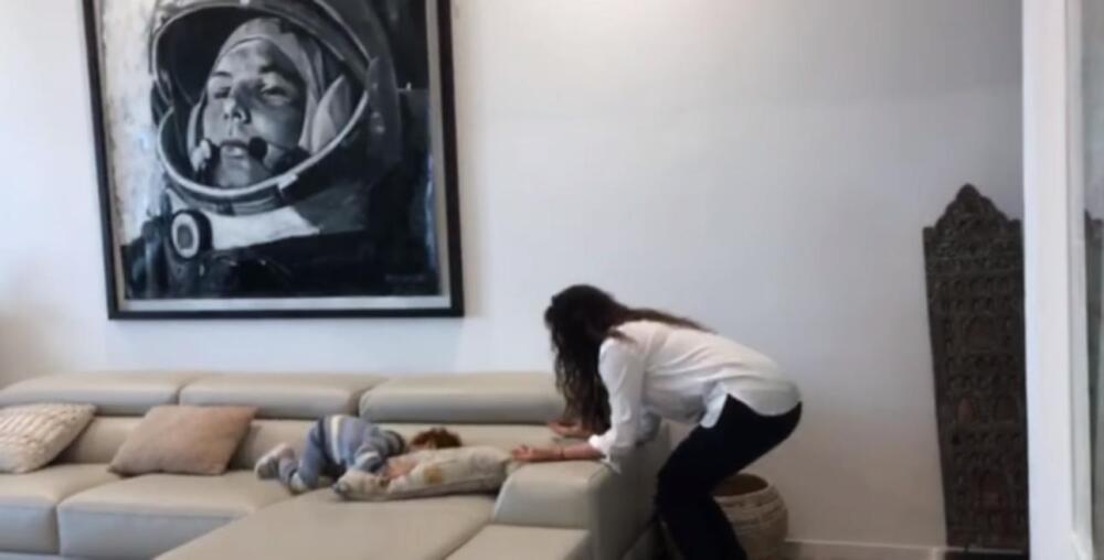 365626_Danna García y su hijo. Foto: Cortesía