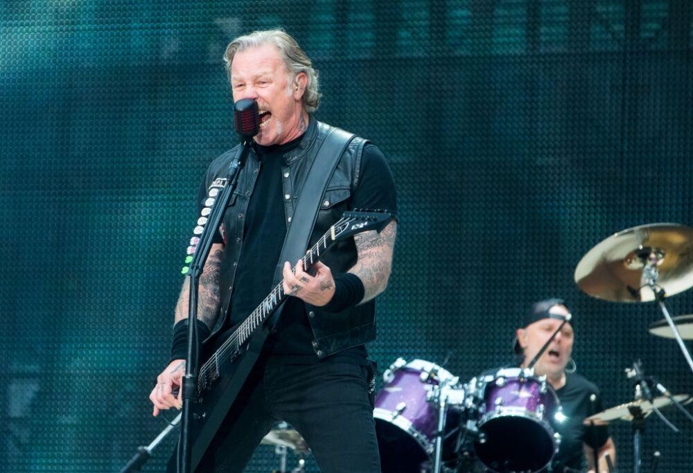 Metallica Perform At Twickenham Stadium
