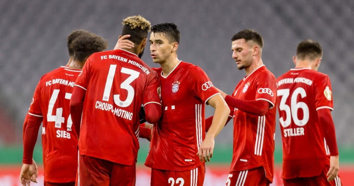Bayern Múnich, 'sin despeinarse', venció 0-3 al Düren y avanzó de ronda en la Copa alemana