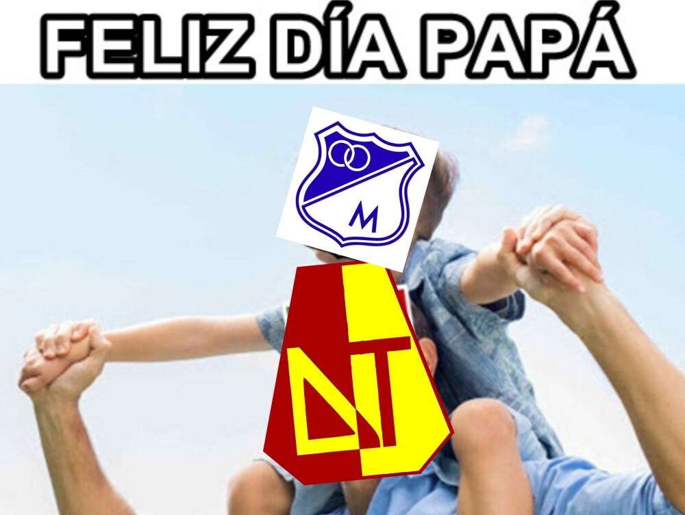 Memes tras las derrota de Millonarios