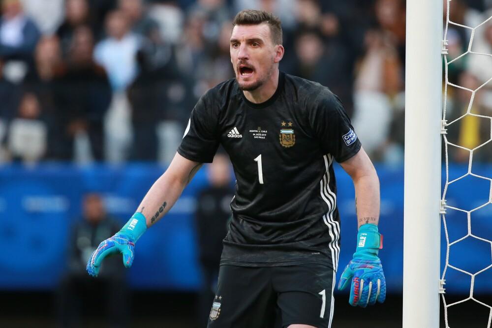 Noticias de Franco Armani para Colombia contra Argentina